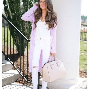 Free People Ribby Long Cardigan